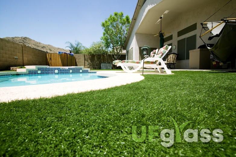 Как выбрать ландшафтную искусственную траву