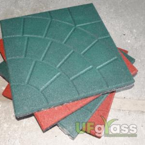 Плитка из резиновой крошки Паутинка 350х350х30 мм