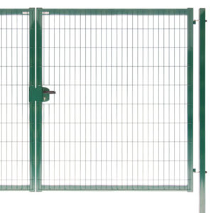 Ворота Medium New Lock 1,53х4,0 RAL 6005