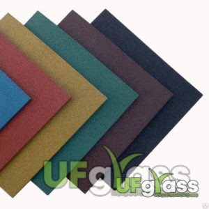Резиновая плитка для улицы 200х200х30 мм